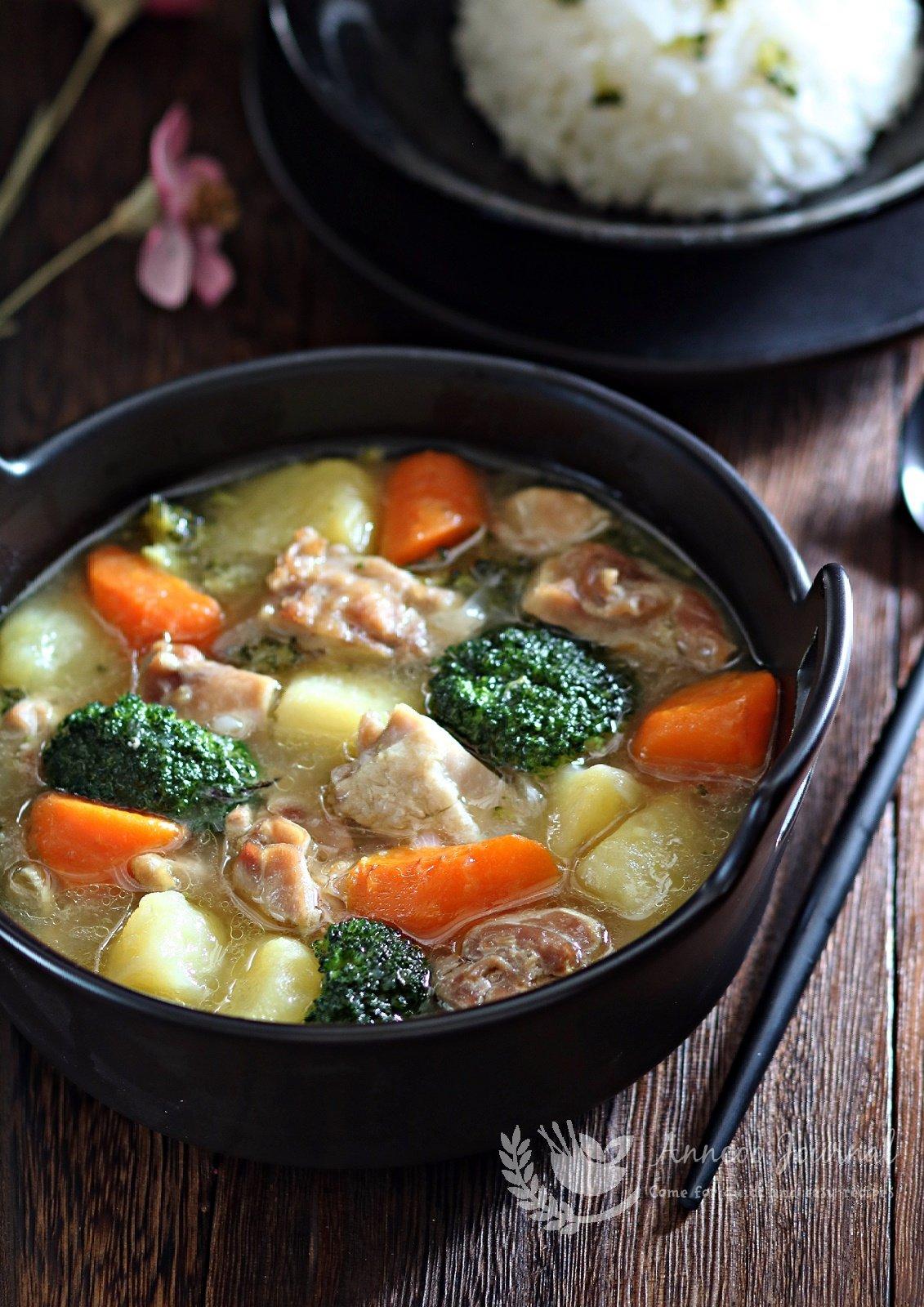 potato chicken stew