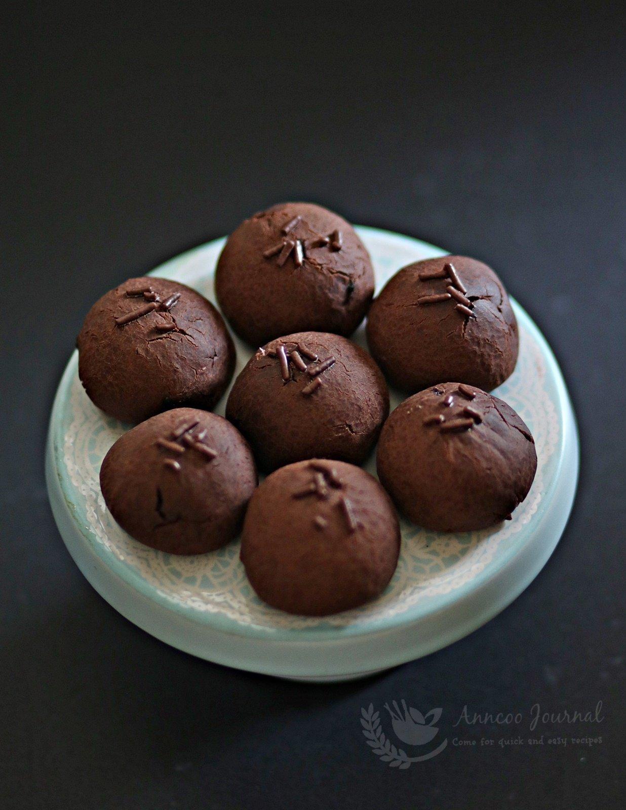 chocolate mochi balls